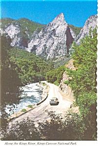 Kings Canyon National Park,CA, Kings River Postcard (Image1)