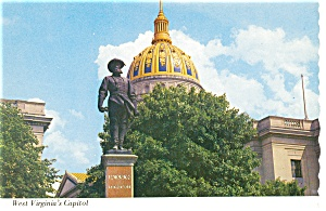 West Virginia's State Capitol Postcard (Image1)