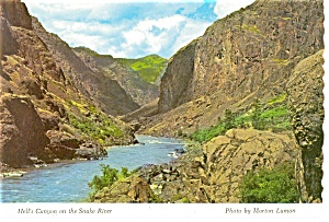 Hell S Canyon On The Snake River Postcard N0983