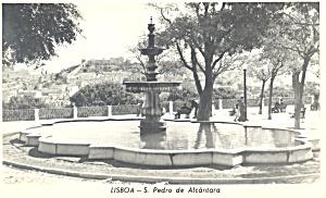 S Pedro de Alcantara Lisbon Portugal Postcard n1030 (Image1)