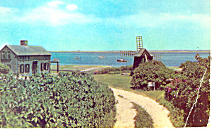 Old Home And Mill Chatham Ma Postcard N1033