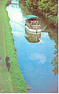 The Canal Boat Josiah White  Postcard n1056 (Image1)