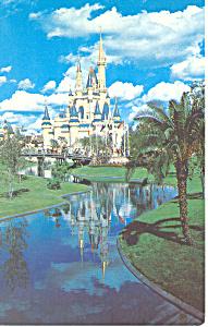 Cinderella Castle Disney World Florida  Postcard n1062 1980 (Image1)
