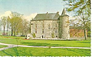 Hotel Kasteel Wittem, Netherlands. Postcard (Image1)