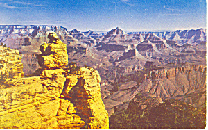Grand Canyon National Park, Arizona Postcard (Image1)