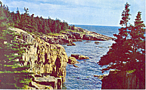 Acadia National Park, Maine Postcard (Image1)