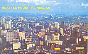 Seattle, Washington Postcard (Image1)