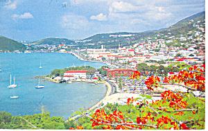 Charlotte Amaila St Thomas VI Postcard n1080 1983 (Image1)