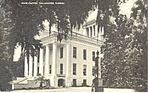 State Capitol, Tallahassee, Florida Postcard (Image1)