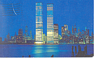 World Trade Center New York City New York Postcard n1102 (Image1)