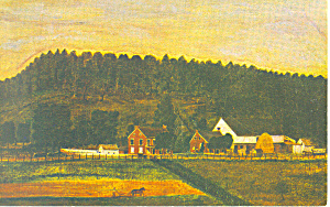 Pa Farm Museum Landis Valley Pa Postcard N1109