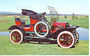 1908 White Steamer Roadster Postcard (Image1)