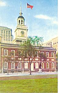 Independence Hall Philadelphia PA Postcard n1126 (Image1)