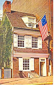 Betsy Ross House Philadelphia PA Postcard n1127 (Image1)