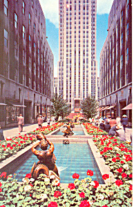 Rockefeller Center, New York City, NY Postcard (Image1)