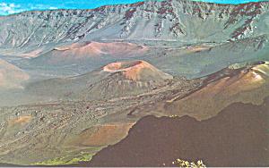 Cinder Cones, aleakala Crater Maui Hawaii n1209 (Image1)