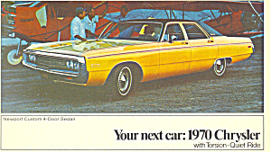 1970 Chrysler Newport Custom 4-Door Sedan (Image1)