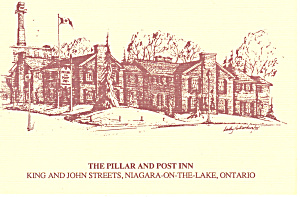 Pillar and Post Inn, Niagara on the Lake Ontario Canada n1228 (Image1)