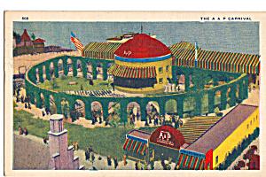 Chicago s World Fair 1933 A and P Pavilion Postcard n1265 (Image1)