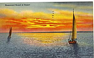 Homeward Bound at Sunset n1279 (Image1)