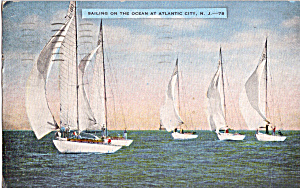 Sailing on the Ocean Atlantic City New Jersey n1333 (Image1)