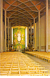 The Nave Coventry Cathedral England N1350