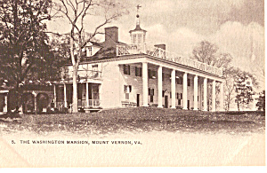 Washington's Home, Mt Vernon (Image1)