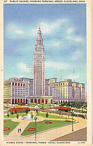 Union Terminal Tower Cleveland Ohio N1372