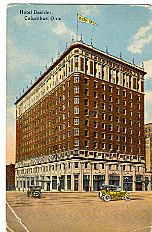 The Deshler  Hotel Columbus Ohio n1374 (Image1)