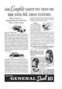 General Dual 90 Tire Ad 1930s. (Image1)