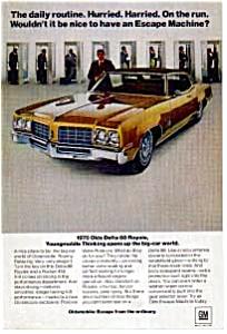 1970 Oldsmobile Delta 88 Royale Ad (Image1)