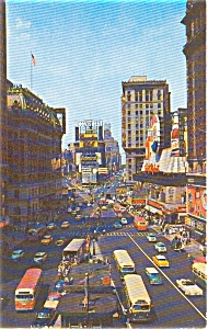 Times Square New York City Postcard p0012 (Image1)