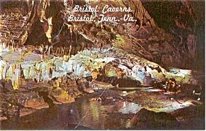 Bristol TN Caverns Postcard p0061 (Image1)