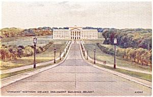 Parliment Building Belfast Postcard (Image1)