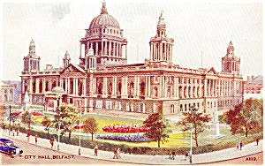 City Hall Belfast Postcard (Image1)
