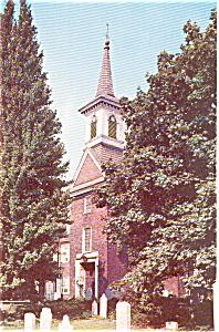 Gloria Dei Church Philadelphia PA Postcard p0147 (Image1)
