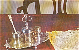 Ink Stand Declaration Independence Philadelphia PA Postcard p0152 (Image1)