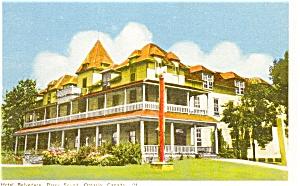 Hotel Belvedere Parry Sound Ontario Canada Postcard p0246 (Image1)