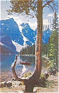 Moraine Lake, Banff National Park Postcard (Image1)