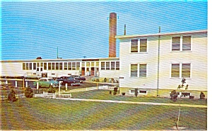 Mcguire Air Force Base Hotel Postcard P0277