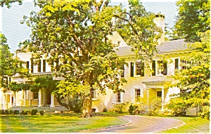 Morven NJ Governor's Home Postcard (Image1)