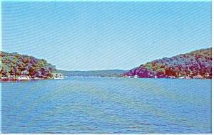 River Styx Mouth Lake Hoptacong NJ Postcard p0315 (Image1)