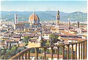 Bobalt s Garden Florence Italy Postcard p0324 (Image1)