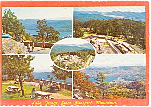 Lake George from Prospect Mt Postcard p0333 (Image1)