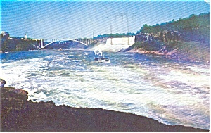American Falls And Maid Of Mist Postcard P0383