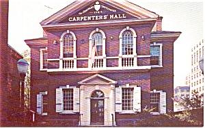 Carpenter s Hall Philadelphia PA Postcard p0519 (Image1)