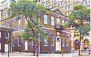 Congress Hall Philadelphia PA Postcard p0520 (Image1)