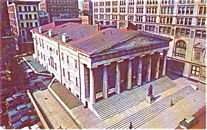 Old Custom House Philadelphia PA Postcard p0522 (Image1)