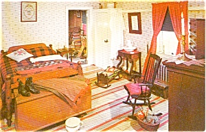 Penna. Dutch Bedroom Postcard (Image1)