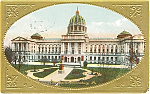 PA State Capitol Building Postcard (Image1)